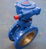 Bs Standard Double Flange Type Triple Offset Butterfly Valve