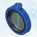 Resilient Butterfly Valve with Replaceable Liner