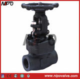 Sw / NPT Forged Steel Gate Valve