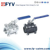 3-PC Female Threaded Ball Valve (BS5351)