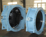 3-Layer O-Ring Design Double Eccentric Sealing Flanged Butterfly Valve