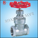 Low Pressure Stainless Steel Threaded Gate Valve (Z15W-16P)