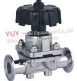 Ss316L Sanitary Stainless Steel Manual Diaphragm Valve (YM)
