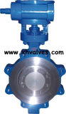 Lug Type Metal Seat Butterfly Valve (D373H)