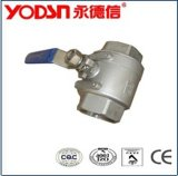 Sanitary Stainless Steel 2PC Ball Valve (ISO9001: 2008, CE, TUV Certified)