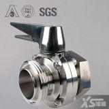 Stainless Steel Hygienic Screw Butterfly Valves