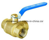 Forged Female 3way Brass Ball Valve