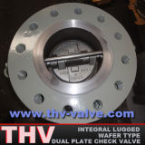 Integral Lugged Type Dual Plate Check Valve
