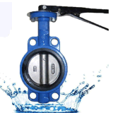Wafer Cast Iron Manual Butterfly Valve