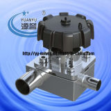 Sanitary T Type Reducing Diaphragm Valve (integrated type)