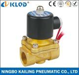 Electric Control 2/2 Way Water Valve with Brass Body 2W