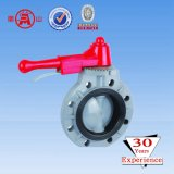 Wafers End Type Butterfly Valve Double Clip Type