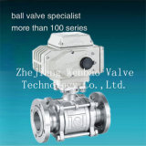Gud Flanged Type Electric Actuator Vacuum Ball Valve
