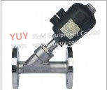 Yuy Plastic Pneumatic Angle Seat Valve