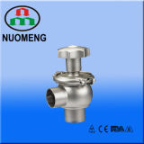 Sanitary Stainless Steel Manual Welded Regulating Valve (3A-No. RN0001)