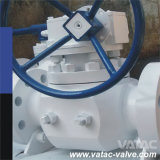 Gear Operation Flanged Casting Top Entry Ball Valve
