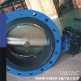 Manual Lever&Gear Operated API 609 Cast Iron Gg25 Wafer/Fully Lug Butterfly Valve (D71)
