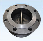 Butterfly Type Flanged Double Disc Swing Check Valve