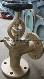 Bronze Flanged Straight Angle Safety Valve