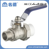 PPR Male Ball Valve with Union Copper Core&Body