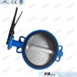8'' Cast Iron Wafer Butterfly Valve with Pin