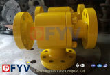 API6d Three Way L Type CF8 Ball Valve