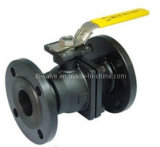 Forged Steel Two Pieces Flange Ball Valve (Q41F-150LB)