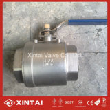 Lever Open CF8m Full Bore 2PC Ball Valve
