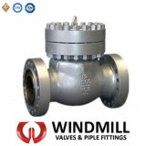 API Cast Steel Flanged Bolted Bonnet Swing Check Valve (H44H-1500LB 12