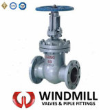 DIN Cast Steel Gate Valve Flanged Ends Wcb Z40h
