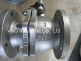 Flanged CF8m Ss316 Ball Valve for Steam