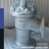 Inclined/Y Type A216 Wcb Flanged Globe Valve
