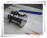 Two Ways Stainless Steel Forged Ball Valve (ASTM F304)
