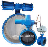 Electric and Pneumatic Butterfly Valve