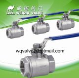 Q11f-63p-Dn15 Stainless Steel Thread Dn6~Dn50 Ball Valve in Manual