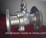 2 Pieces Stainless Steel Flanged Ball Valve