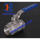 Thread Stainless Steel Two Piece Ball Valve