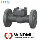 API Forged Steel Flanged End Check Valve A105/ F316/ F304 (H44H)