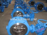 DIN/API/GOST Flanged Butterfly Valve with Manual (D343H)