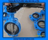 Wafer Type Butterfly Valve Aluminum Handle (D71X-16)