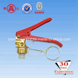 Dry Powder Fire Extinguisher Valve with Safety Device-2