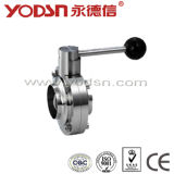 Butterfly Type Ball Valve, Butterfly-Type Ball Valve (ISO9001: 2008, CE, TUV Certified)