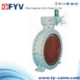 API 6D Cast Steel Butterfly Valve with Bare Shaft