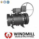 API Forged Steel 3PCS Trunnion Mounted Ball Valve (Q347F)