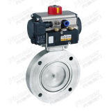 Pneumatic High Vacuum Butterfly Valve (GIQ)