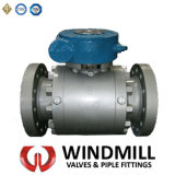 API Forged Type Fix Ball Valve with Worm