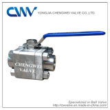 Forged Steel F304 Floating Threaded Ball Valve