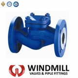 DIN Cast Steel Flanged Lift Check Valve (H42H-25 DN50)