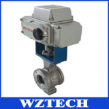 Electric Fixed Flange Stainless Steel Ball Valve