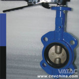 Cast & Ductile Iron Pn6/Pn10/Pn16 Wafer Butterfly Valve
